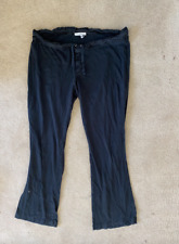 Standard James Perse Black Sleep Pants Size 2