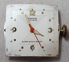 Año 1950/60. Reloj VINTAGE ANKER 21 RUBIS. SUPER SHOCK RESIST. Tamaño 29 mm.