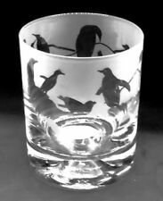 More details for penguin frieze boxed 30cl glass whisky tumbler