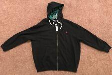 Polo Ralph Lauren Big & Tall Black Hoodie 2XB MSRP $145 NEW NWT Full Zip