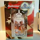 Budweiser Honoring Tradition & Courage Stein Series AIR FORCE Lidded 1999 CS378