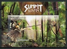 Malaysia 2018 MNH Blowpipes 1v M/S Cultures Traditions Birds Monkeys Stamps