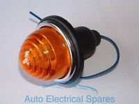Lucas Type L594 indicator lamp / light AMBER lens  AUSTIN MORRIS Mini