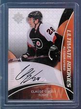 08-09 Ultimate Claude Giroux Auto Rookie Card RC #66 Mint Rare /399