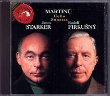 Janos forte & Rudolf Firkusny Martinu 3 Cello Sonata CD violoncello sonate 1 2 3 RCA