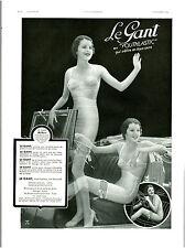 Publicité ancienne le gant en Youthlastic 1934 issue de magazine
