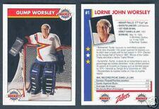 1993-94 Zellers Masters of Hockey Gump Worsley
