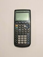 Ti-83 Plus Graphing Calculator Texas Instruments Working w/ Cover