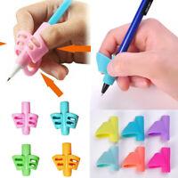 3Pcs/Set Children Pencil Holder Pen Writing Grip Posture Correction Tool HOT