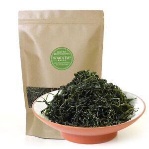 GOARTEA 100g Supreme Kuding Bitter Herbal Green Tea Qingshan Lushui Small-leaf