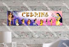 Personalized/Customized Pocahontas Movie Name Poster Wall Art Decoration Banner