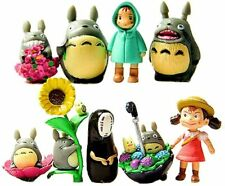 9 Pcs/Set My Neighbor Totoro Mini Figure DIY Micro Landscape Garden Resin Decor