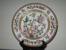 """9"""" Indian Tree Opaque China Lunch Plate S Hancock & Sons Stoke on Trent England"""