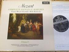 SXL 6247 Mozart Complete Dances & Marches Vol. 8 / Boskovsky W/B