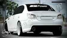 BMW M POWER WINDSCREEN STICKER 90CM X 12CM