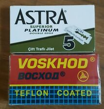 Astra Voskhod Duo (8) DE Safety Razor Blades Double Edge