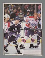 1981-82 O-Pee-Chee Hockey Sticker Toronto Maple Leafs Complete Team Set (20) OPC