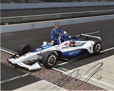 Felix Rosenqvist autographed 2019 Indy 500 8x10 photo
