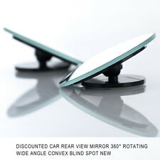1× 50mm Round Car SUV Rear-view Blind Spot Convex Wide Angle Mirror Accessories
