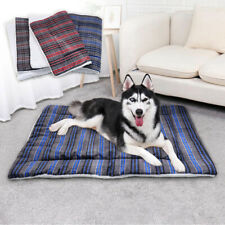 Large Dog Bed Mattress Washable Soft Sleep Kennel Cushion Crate Blanket Mat M-XL