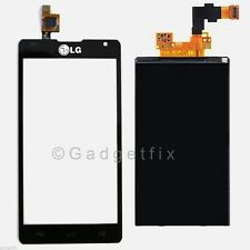 USA Digitizer Glass Touch Screen + LCD Screen Display for LG Sprit 4G MS870