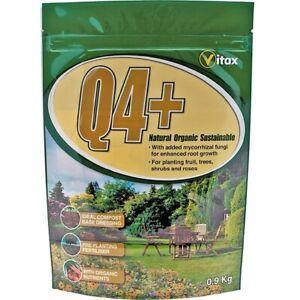 Vitax Q4 Plus Fertiliser contains mycorrhizal fungi 0.9kg