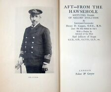 AFT-FROM THE HAWSEHOLE - HENRY D. CAPPER, O.B.E., R.N.