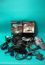 SONY PLAYSTATION 2PS2 SLIM CONSOLE SYSTEM 2CONTROLLERS GAME 3