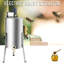 2-Frame Electric Honey Extractor Beekeeping Equipment Extraction Separator Drum