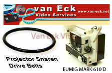 Eumig Mark 610 D belt (motor)reference: Eumig part nr: 731.5629/2New belt, re