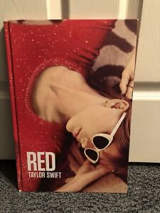 "Taylor Swift RED Album Photo/Lyric Coffee Table Book - 10.5"" x 15.5"""