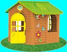 SPIELHAUS RIESENHÄUSCHEN Kinderhaus  für Kinder Bunt Gartenhaus Kinderspielhaus
