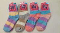 4 pairs Colorful Soft Cozy Fuzzy Warm Socks