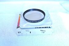 Tiffen 58 mm NEW 81B Screw In Filter with Pouch/Box Made in USA (P-106)