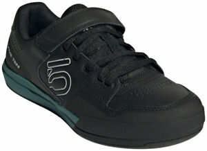 Five Ten Women's Hellcat Clipless Shoes | Core Black/Crystal White/Emerald | 6.5