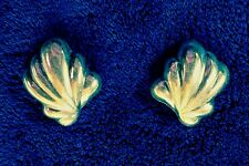 Vintage .925 Sterling Silver Earrings- Lg Size- Signed