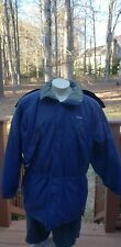 Clean Vintage Patagonia Das Parka Full Zip Winter Jacket Removable Hoodie Blue L