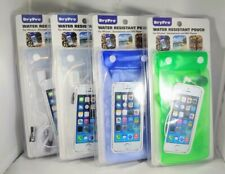 (Lot of 4) DryPro Universal Water Resistant Cell Phone Pouch IPhone, mp3