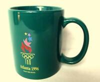 Atlanta 1996 Centennial Park Olympics Hunter Green Coffee Mug in Georgia USA