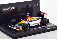 1:43 Minichamps Williams Honda FW11 1986 Rosberg Riding on Piquet