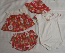GYMBOREE Bohemian Jewel 6-12 Month Bodysuit Shirt Bloomers Hat Outfit NWT