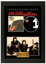 Framed Poster The Rolling Stones GRRR Display Disc CD Collectors Picture