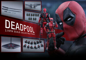 Hot Toys Deadpool MMS347 1/6 Scale Collectible Figure (SEALED)