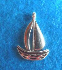 Pendant Sail Boat Charm Sailing Charm Lake Boating Fishing Charm Nautical