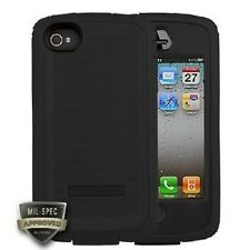 NEW OEM Body Glove Toughsuit Cell Phone Case iPhone 4 4S 9304903 Black / Black