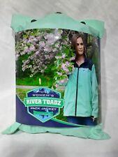 Frogg Toggs Women's River Toadz Pack Jacket Outerwear Seafoam/Gray Small Rain