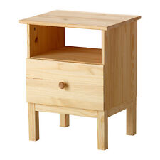 Made Of Solid Wood Bedside Table Tarva Pine 48x62 Cm