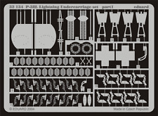 EDUARD 32134 Undercarriage Set for Trumpeter® Kit P-38L in 1:32