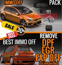 **🔧 IMMO OFF Programme EGR DPF FAP OFF ECU VIRGIN OBD2 Pack - Use > Fix 🔧 *