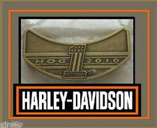 Harley Davidson 2010 HOG Harley Owners Group Jacket Hat Pin Badge Free Post UK